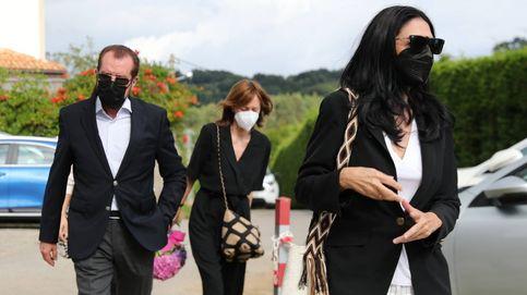 Menchu ya descansa junto a su marido: su entierro, sin la reina Letizia y en la intimidad