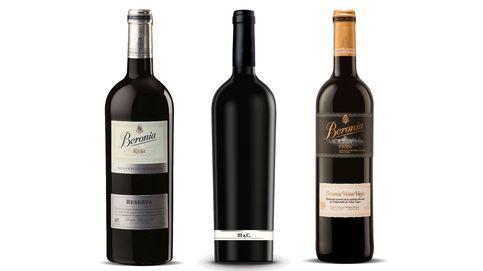 Los tres vinos campeones de Beronia