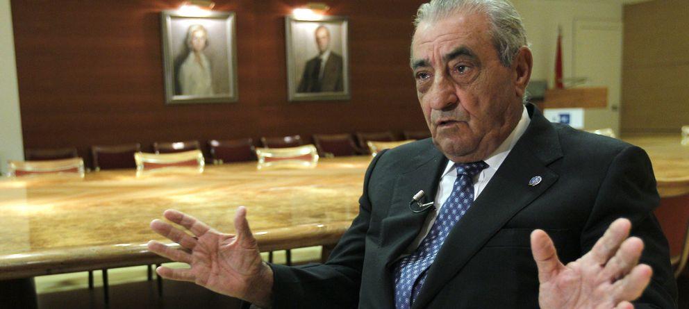 Foto: El presidente del grupo Globalia, Juan José Hidalgo, durante la entrevista en 2013 (Efe)