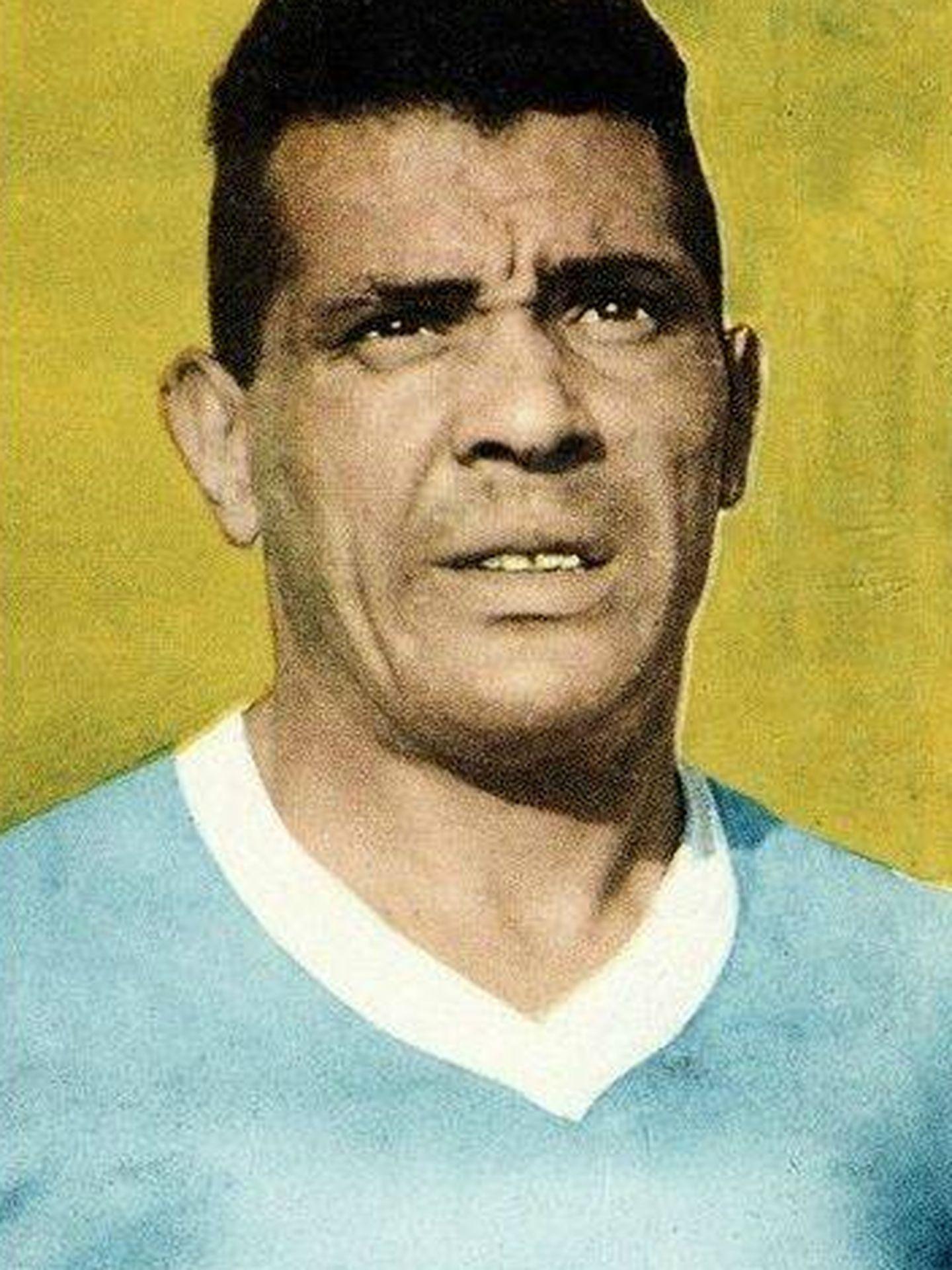 Obdulio Varela, 'el Negro Jefe'.