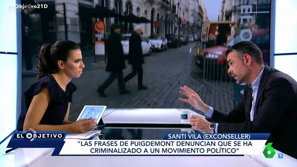 Santi Vila, en 'El Objetivo': Las leyes de desconexión eran un sinsentido