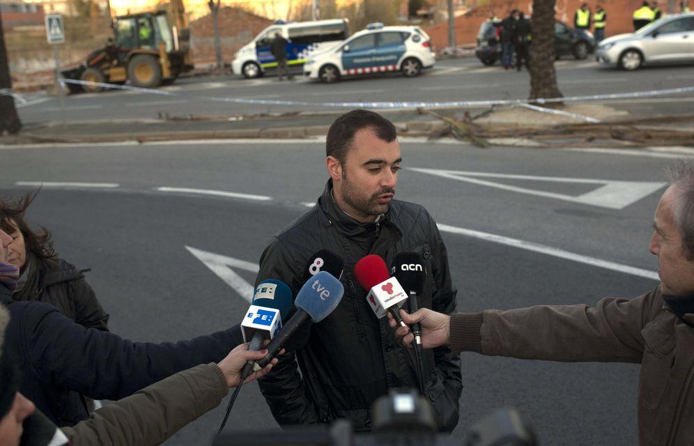 Foto: El socialista Jordi Ballart, hasta ahora alcalde de Terrassa, en diciembre de 2014. (EFE)