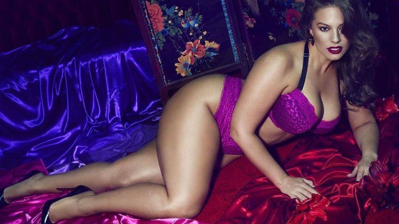 Foto: La modelo de talla grande Ashley Graham en una imagen de Instagram