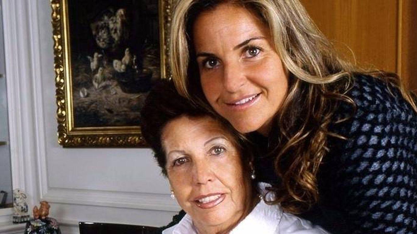 Noticias de Famosos La madre de Arantxa Sánchez Vicario no sabe