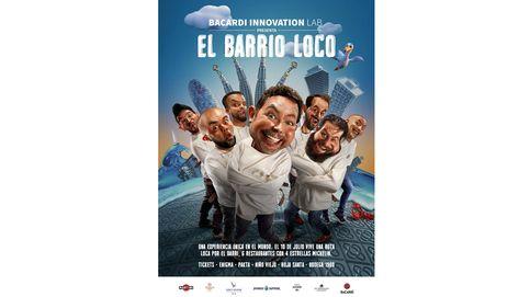 Bacardí Innovation Lab suma gastronomía y coctelería en 'Barrio Loco'