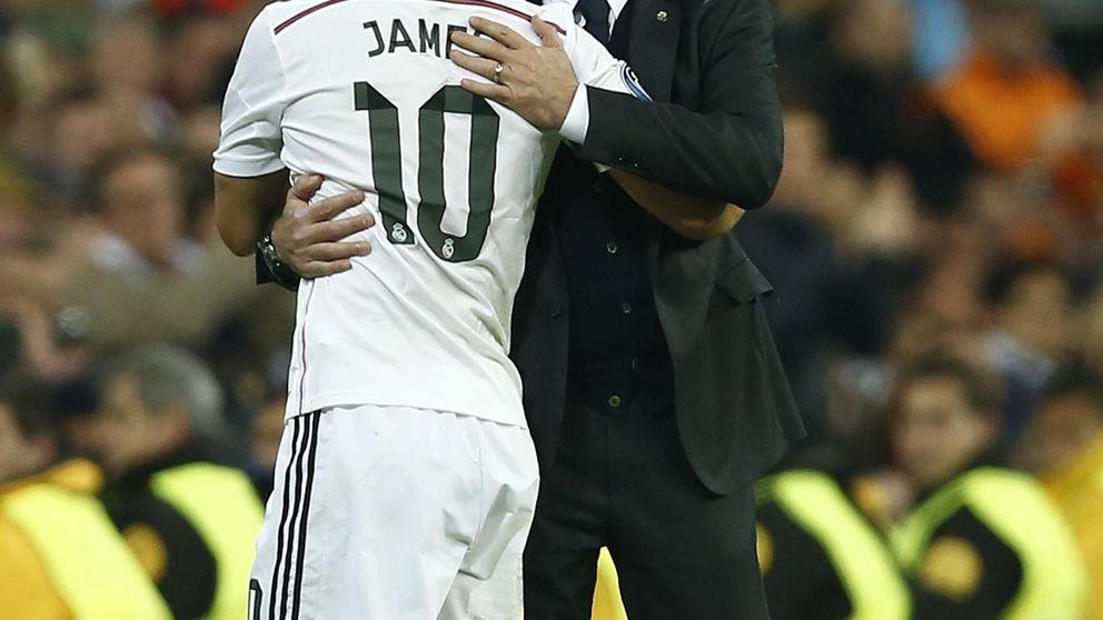 El día que Cristiano y Ramos sugirieron a Ancelotti que James debía ser titular