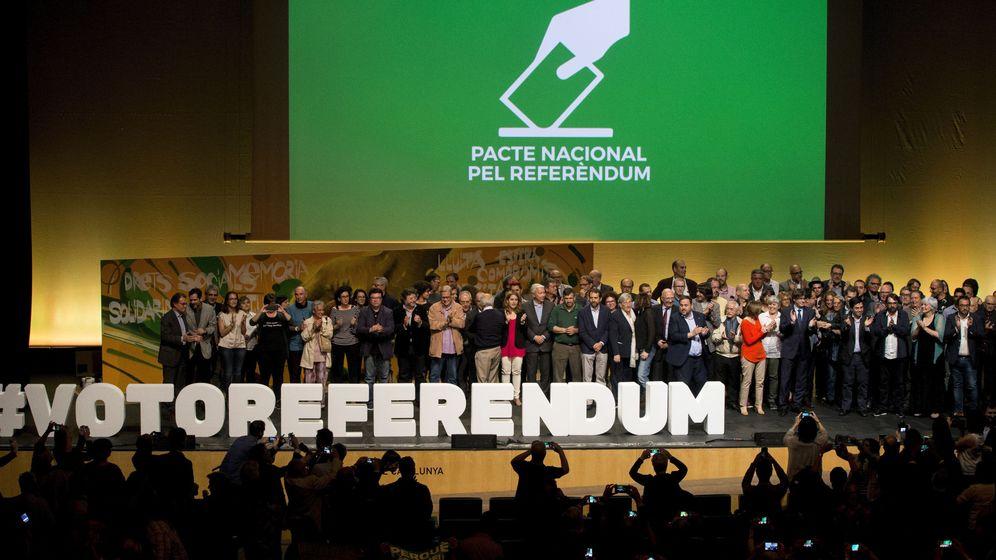 Foto: Acto central del pacto nacional por el referÉndum