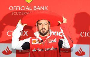Alonso: Para Ferrari fue un año difícil, para mí, cinco años difíciles