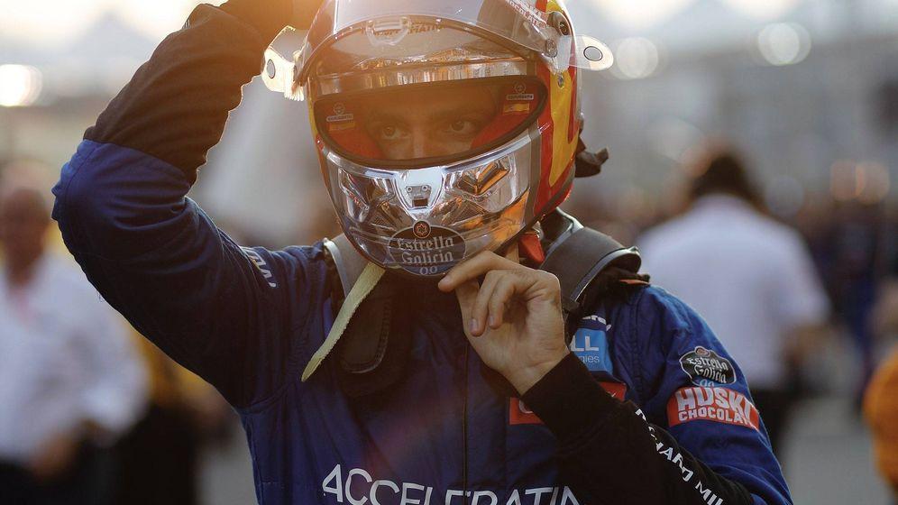 Foto: Carlos Sainz en la última prueba de la temporada. (@CarlosSainz55)