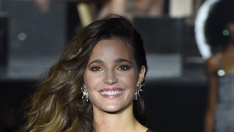 Malena Costa en el desfile de Woman'secret
