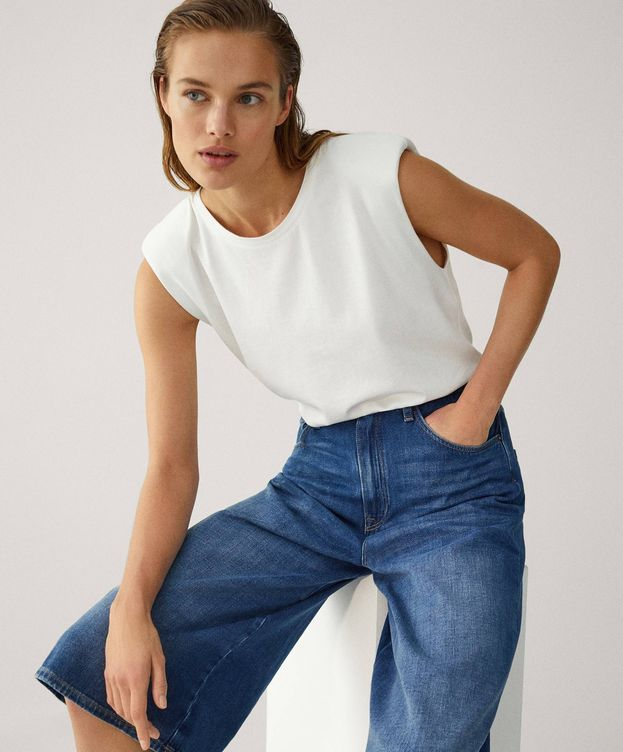 Foto: Transforma tus looks con esta falda pantalón de Massimo Dutti. (Cortesía)