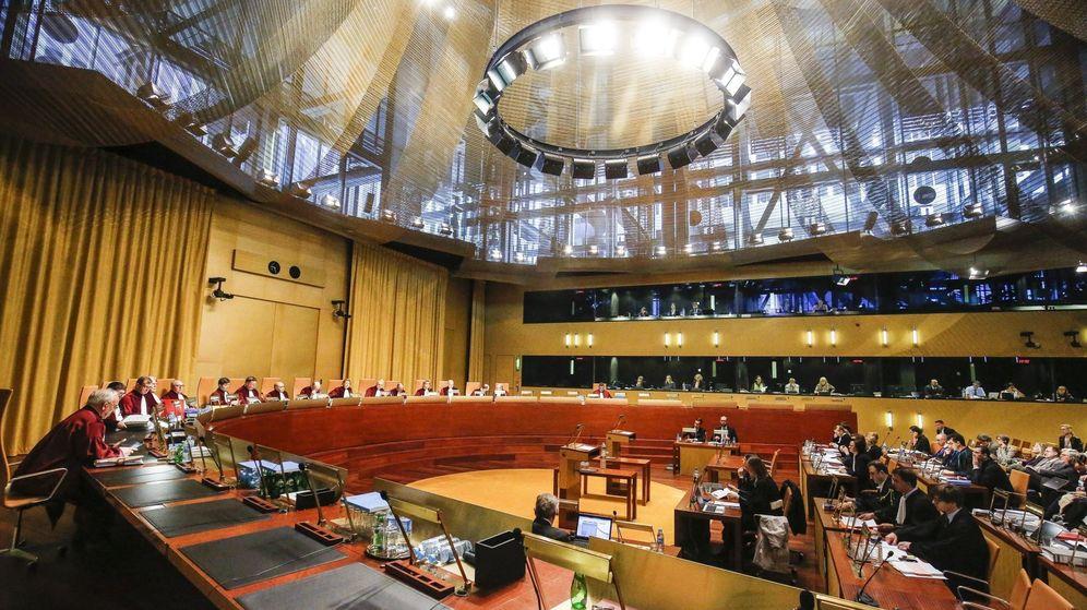Foto: Vista general de los jueces del Tribunal de Justicia de la Unión Europea. (EFE)