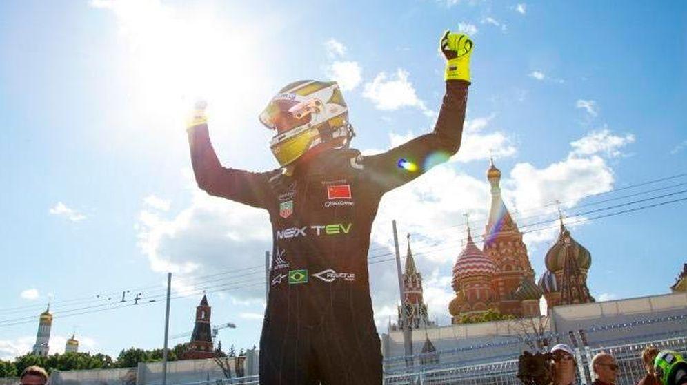 Foto: Nelson Piquet se convierte en campeón de la Fórmula E en un final de infarto.
