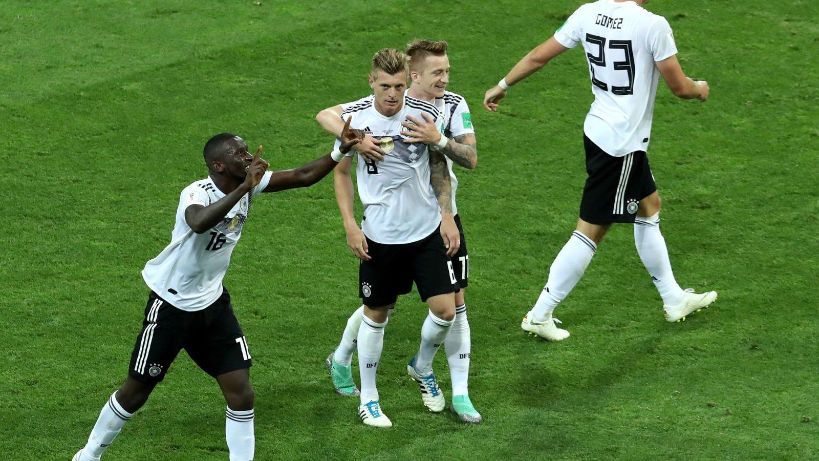 Foto: Group f germany vs sweden
