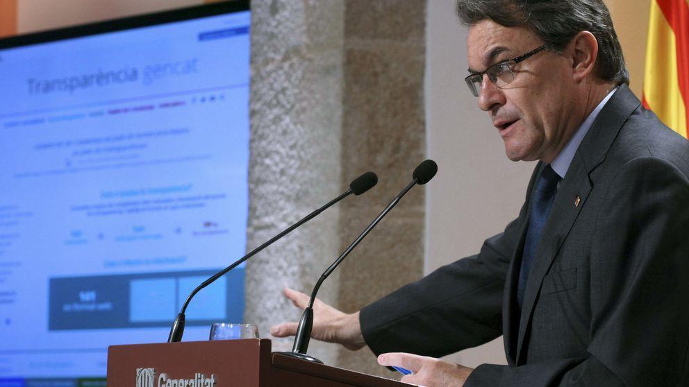 Mas presume de transparencia antes de comparecer por el Palau