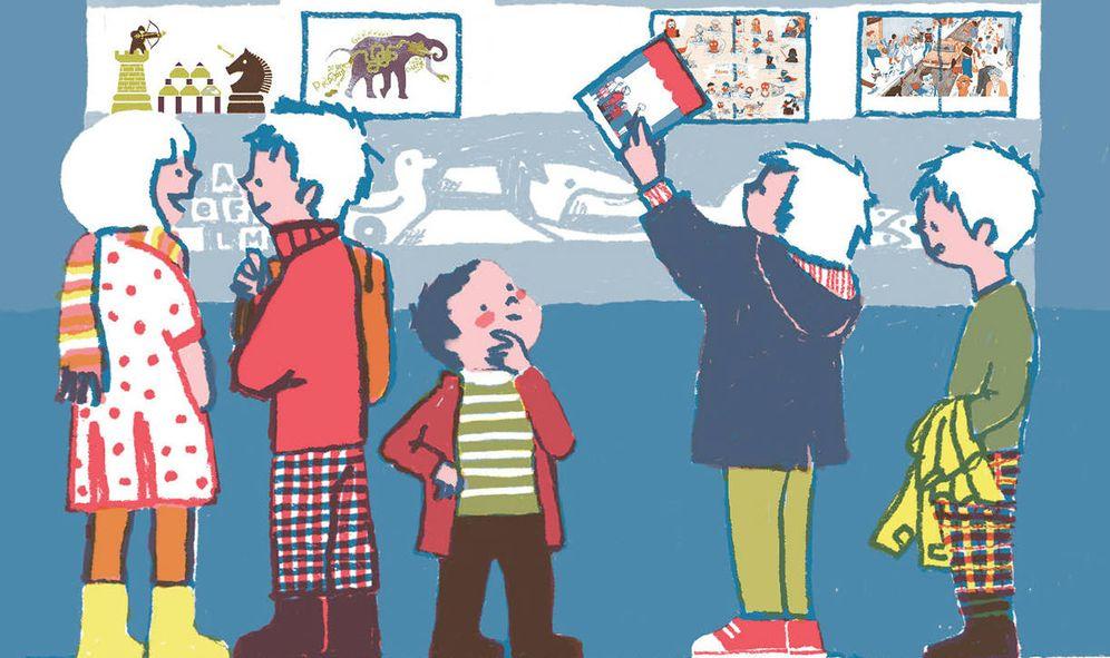 Foto: Detalle de portada del número 4 de '¡La leche!'