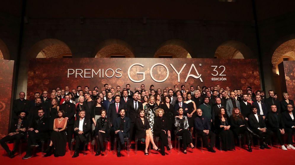 Foto: Una imagen de la fiesta de los nominados a los Goya. (EFE)
