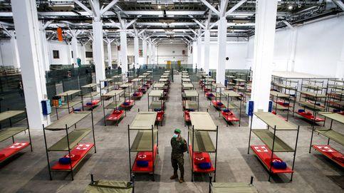 La Generalitat monta un hospital en Fira de Barcelona que tendrá hasta 2.000 camas