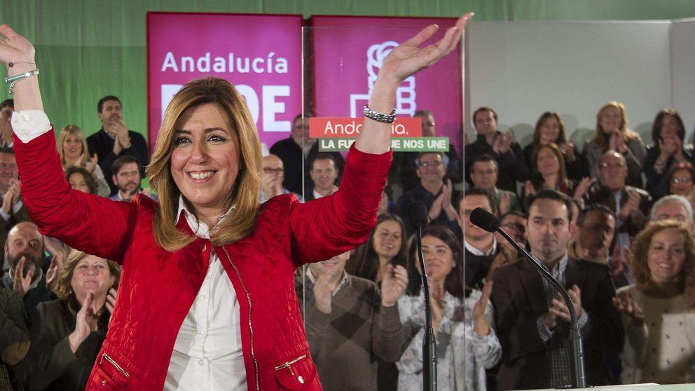 Díaz se lanza a su 'campaña' con el PP y Podemos en la diana