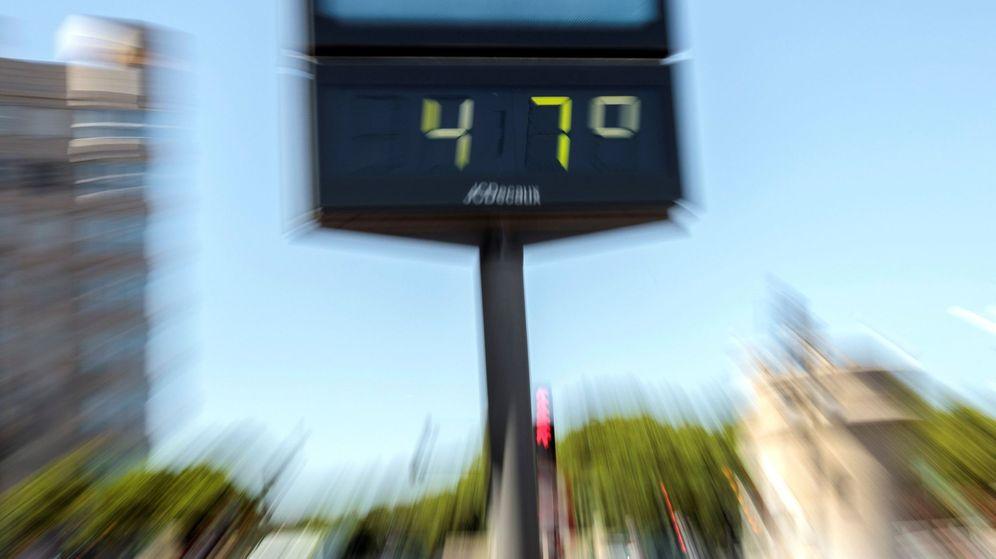 Foto: Un termómetro en Valencia. (EFE)