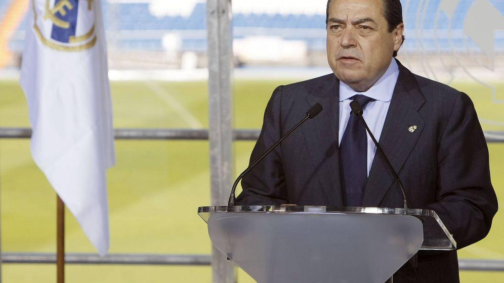 Foto: Vicente Boluda en 2009, en el Santiago Bernabéu. (EFE)