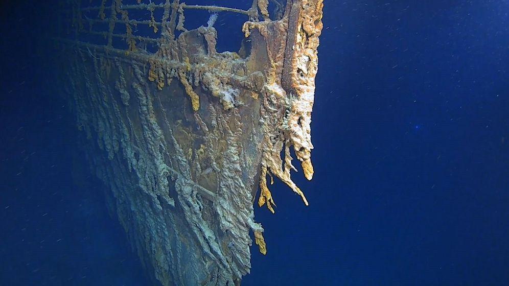 Foto: Los restos del Titanic. (EFE)