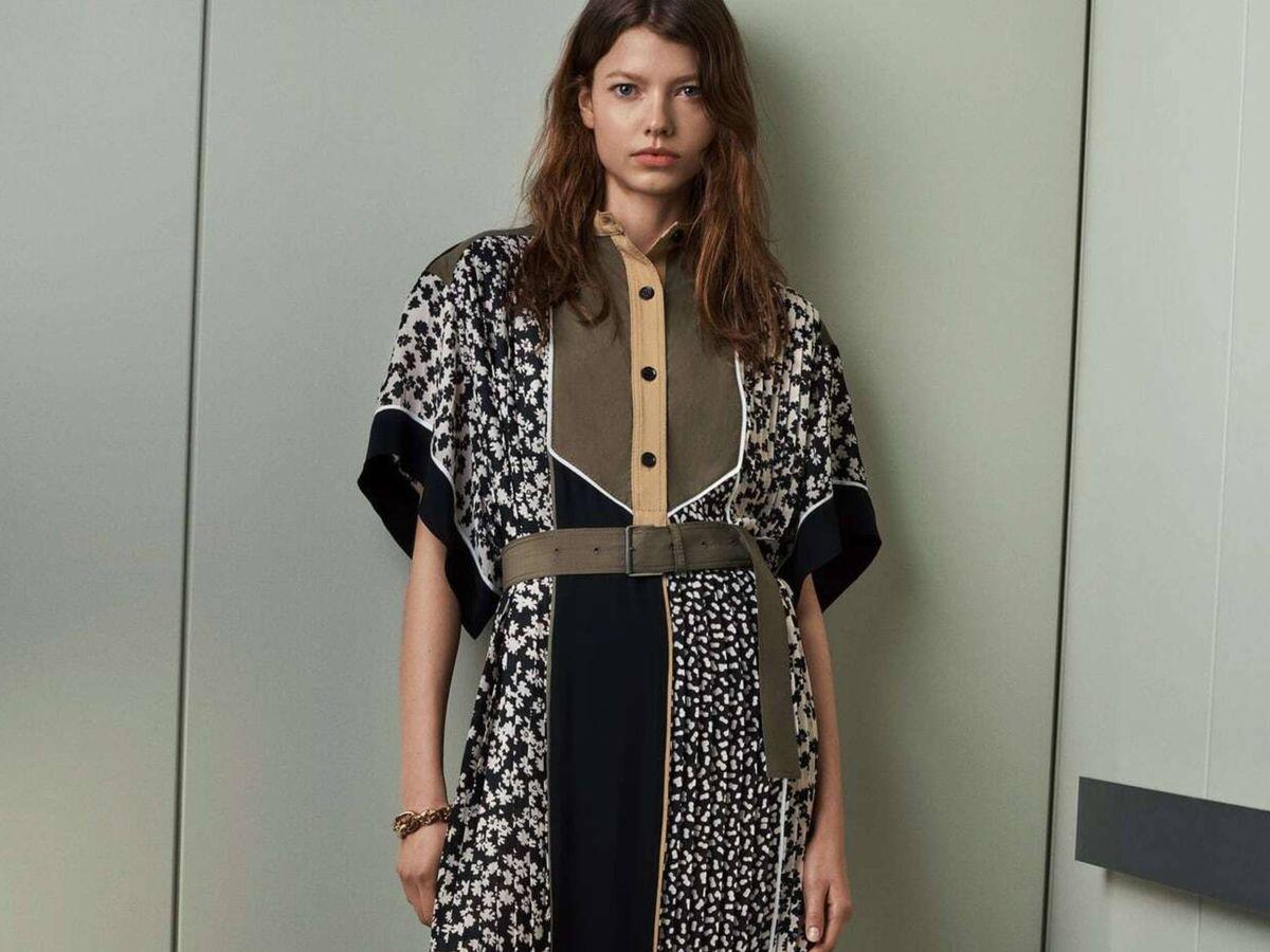 Foto: Un vestido de la nueva colección SRPLS de Zara. (Cortesía)