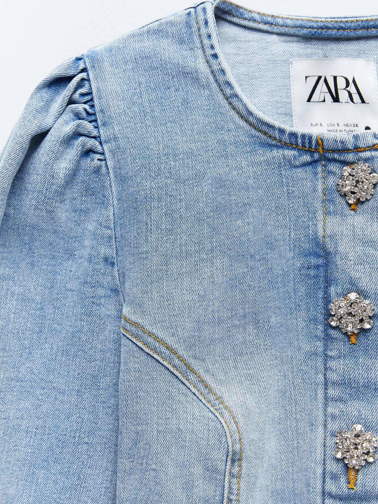 El conjunto denim de Zara. (Cortesía)
