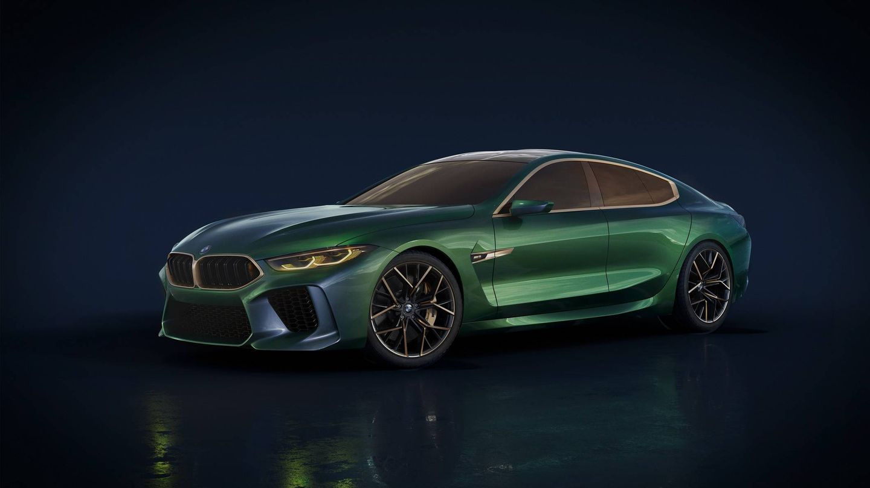 BMW M8 Gran Coupé Concept.