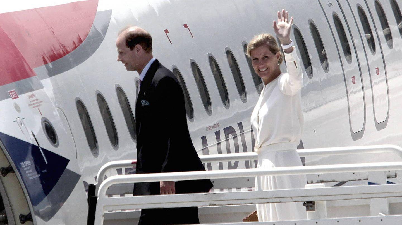 El príncipe Eduardo y su esposa, Sophie, en una imagen de archivo. (EFE)