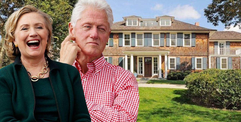 Foto: Los Clinton disfrutarán de esta mansión hasta el próximo 31 de agosto (Vanitatis)