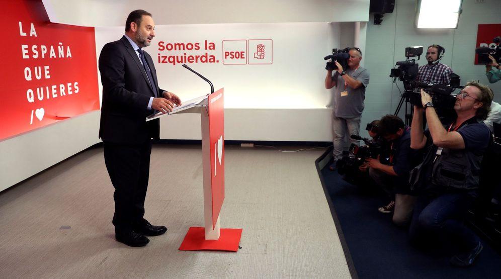 Foto: José Luis Ábalos, el pasado 27 de mayo en Ferraz. (EFE)