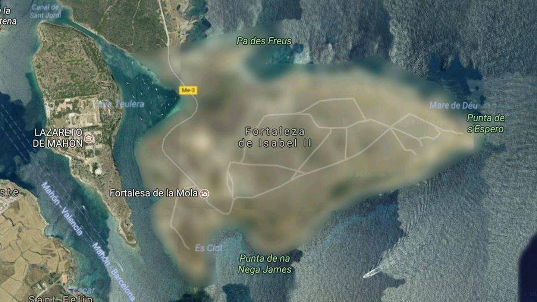 La península invisible. (Google Maps)