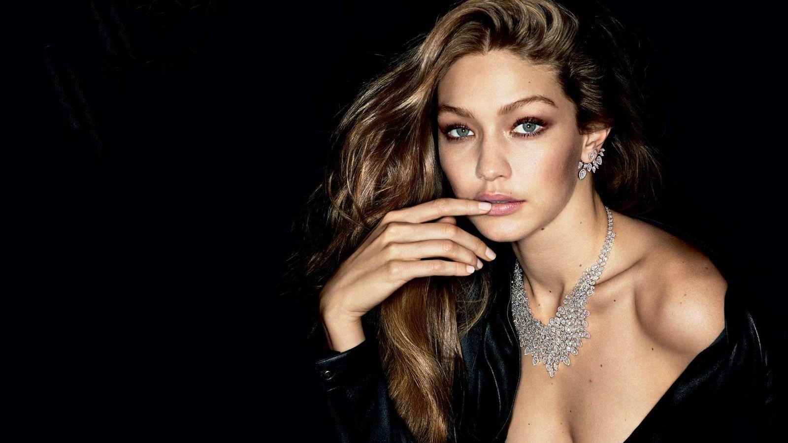 Foto: La modelo Gigi Hadid como imagen de la firma de joyería Messika.