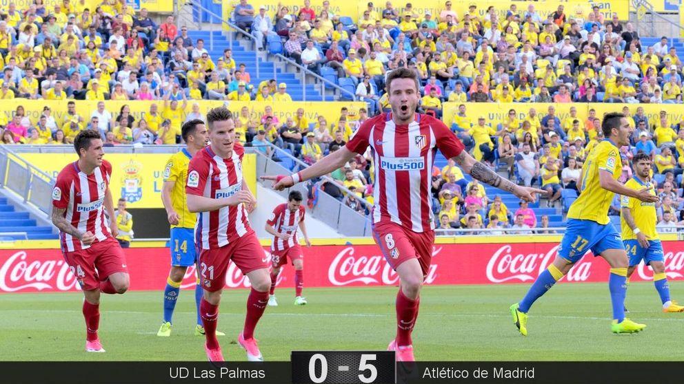 El Atlético de Madrid hace trizas a un equipo en ruinas