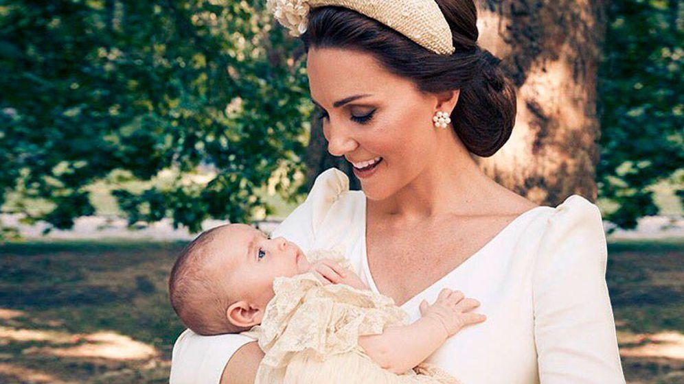 Foto:  Kate, en el bautizo de Louis. (Getty)