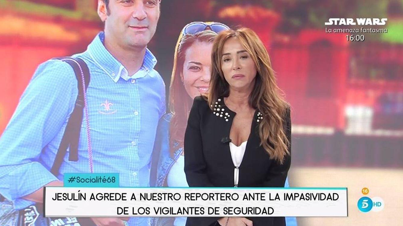 Jesulín de Ubrique agrede y amenaza a un cámara de María Patiño: Denunciaremos