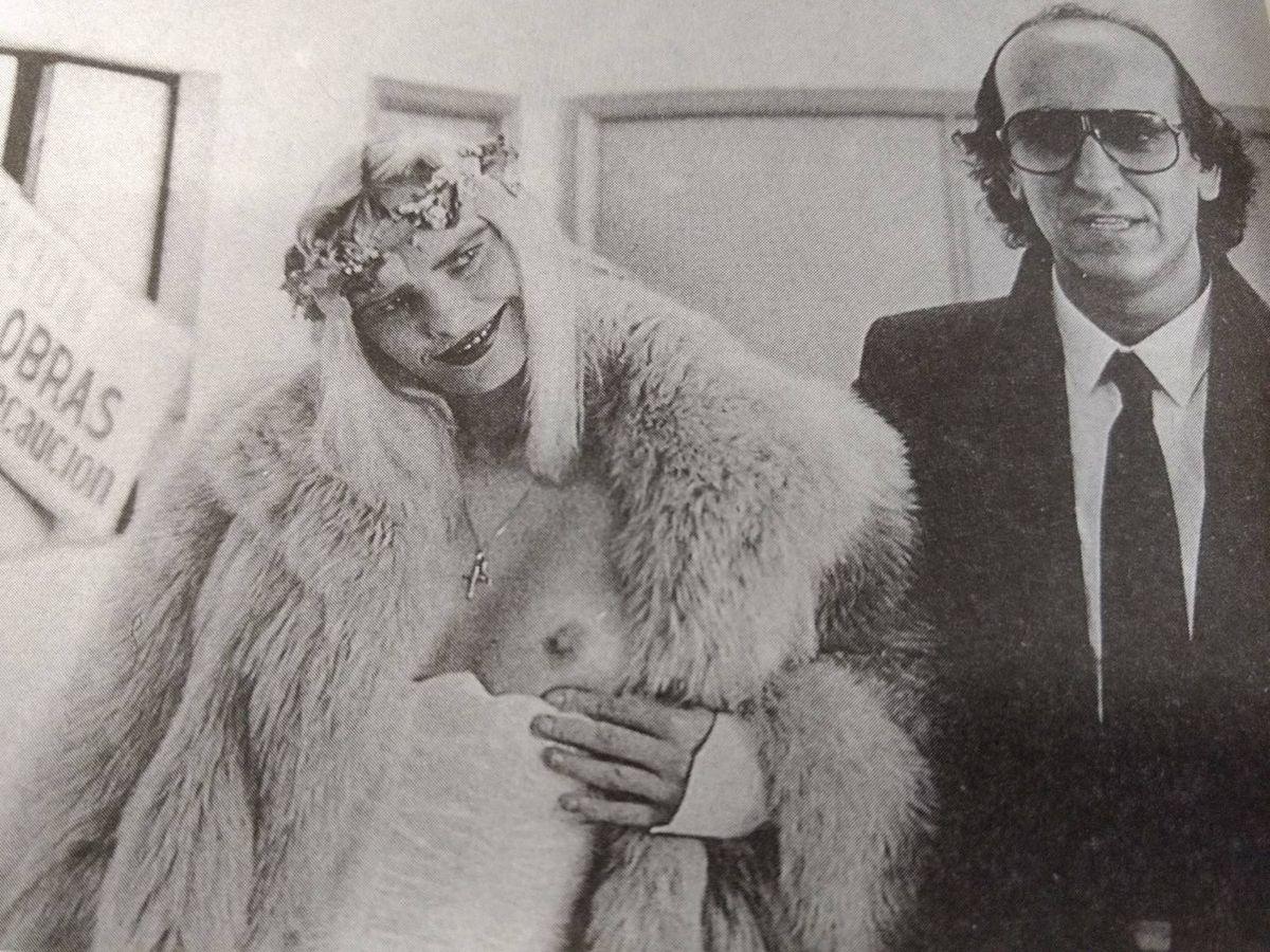 Foto: Ciciolina y Telmo Domínguez (archivo P. Conde.)