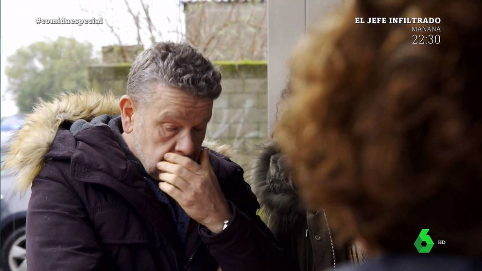 Alberto Chicote se rompe con la historia de un abuelo en '¿Te lo vas a comer?'