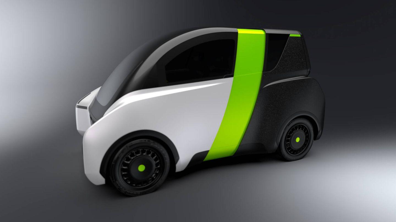 Los motores eléctricos van integrados en las ruedas, y el E-Miles no equipa ni retrovisores ni limpiaparabrisas.