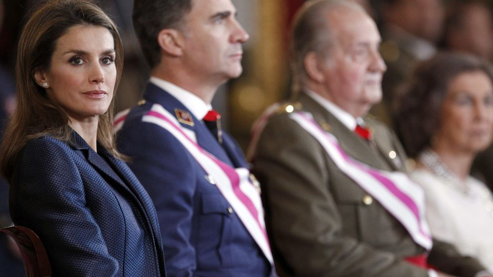 Los Reyes y Don Juan Carlos plantan a Irene Urdangarin en su Comunión