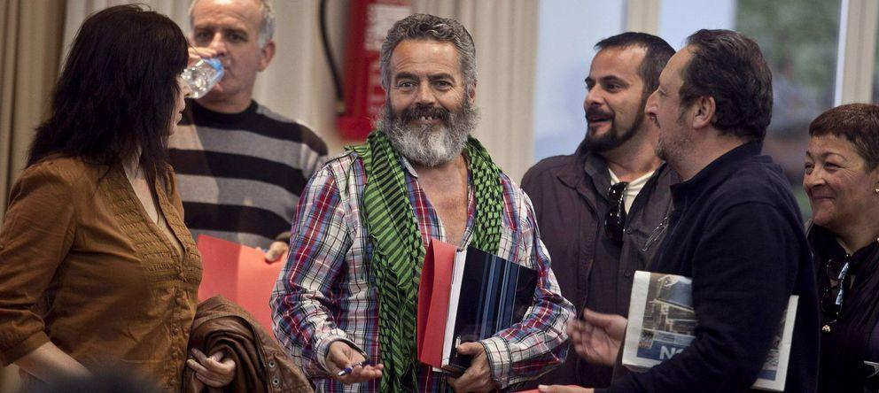 Foto: El alcalde de Marinaleda, Juan Manuel Sánchez Gordillo. (EFE)