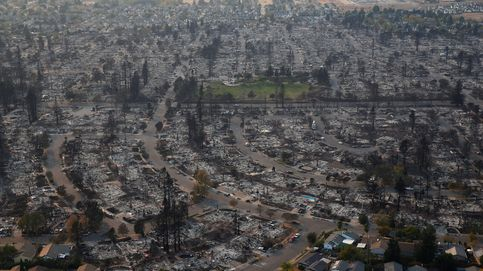 El incendio que ha devastado California, visto desde el aire