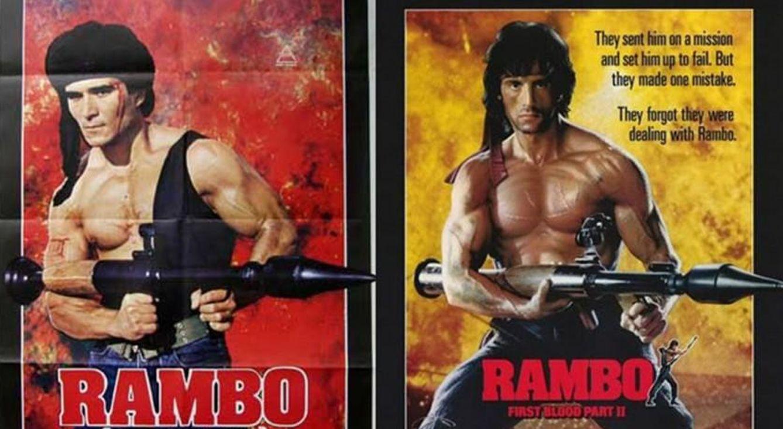 Foto: Rambo contra Rambo, duelo de titanes