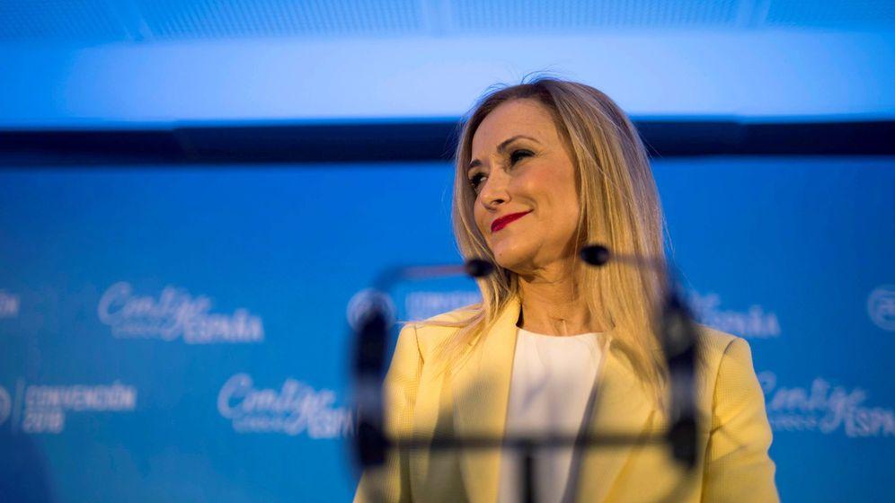 Foto: Cristina Cifuentes en la Convención Nacional del PP en Sevilla. (EFE)