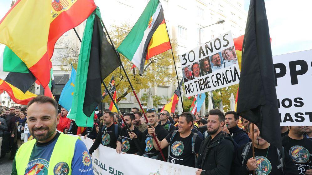 Foto: ConcentraciÓn policÍas en madrid