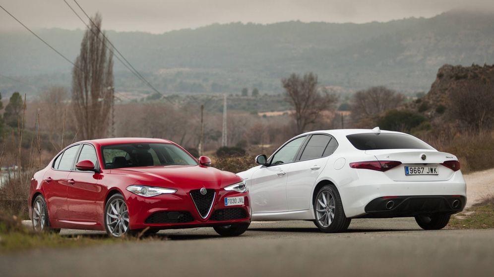 Ferrari Alfa Romeo Giulia El Placer Italiano Que Enamora Con El