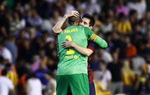 Messi y Valdés vuelven para impulsar al Barcelona en su mes