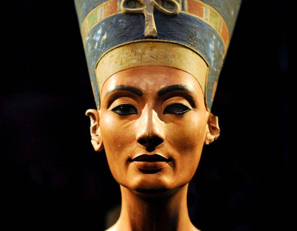 Foto: Busto de Nefertiti (EFE)