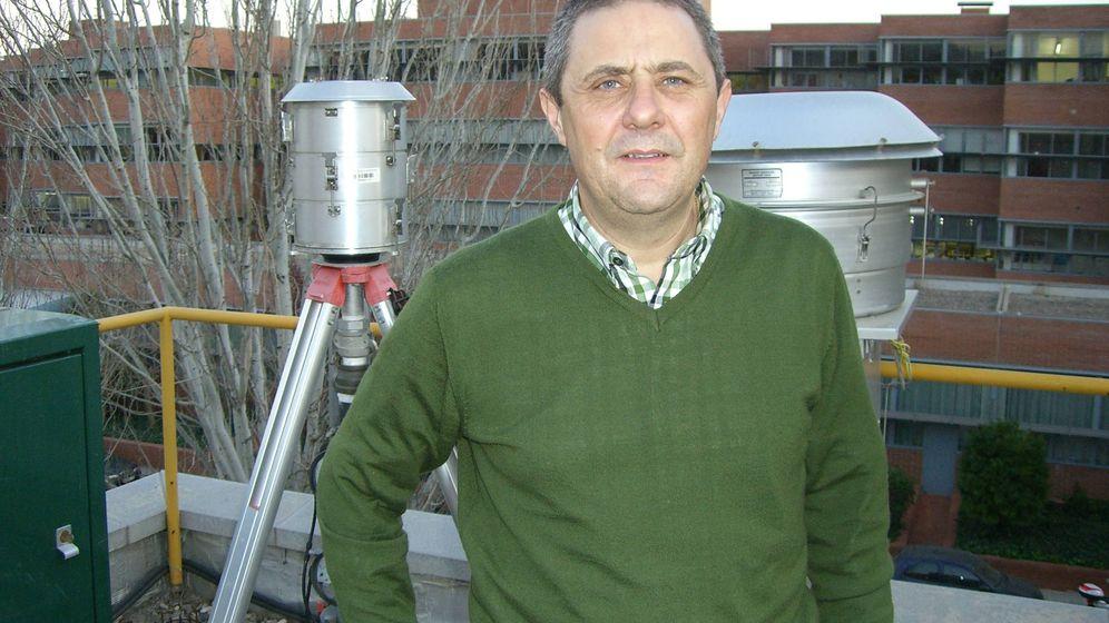 Foto:  Xavier Querol es uno de los principales expertos en investigación atmosférica de nuestro país (Cedida)